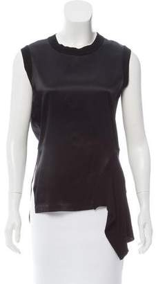 DKNY Asymmetrical Ribbed Tank
