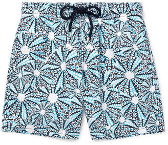 Vilebrequin Moorea Mid-Length Printed Swim Shorts - Men - Blue