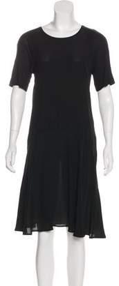 Paul Smith Scoop Neck Short Sleeve Dress
