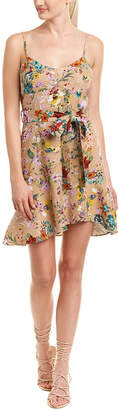 Do & Be DO+BE Do+Be Floral Linen-Blend Shift Dress