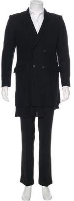 Chapter Double-Breasted Wool Coat