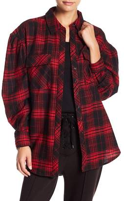 AFRM Victoria Princess Sleeve Flannel