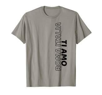 Amo Peter2art Travel Holiday Vacation Souvenir Roma Italia ti Rome Italy I Love You Souvenir Gift T-Shirt