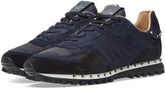 Valentino Camo Stud Sole Rockrunner Sneaker