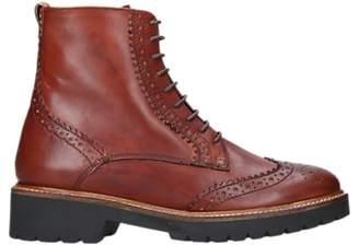 Carvela Snail Lace Up Ankle Boots, Tan