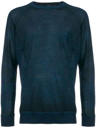 Avant Toi sheer fine knit sweater