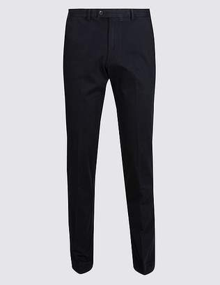 Marks and Spencer Slim Fit Smart Travel Chinos with Stretch