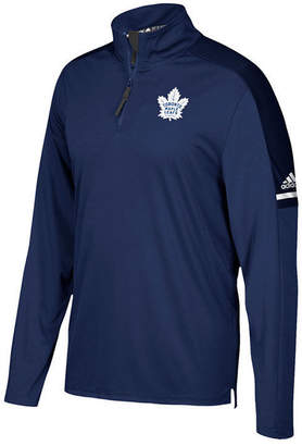 adidas Men's Toronto Maple Leafs Authentic Pro Quarter-Zip Pullover