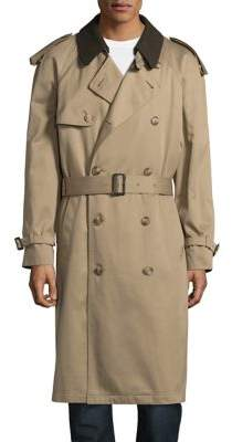 Hart Schaffner Marx Zip-Lined Trench Coat