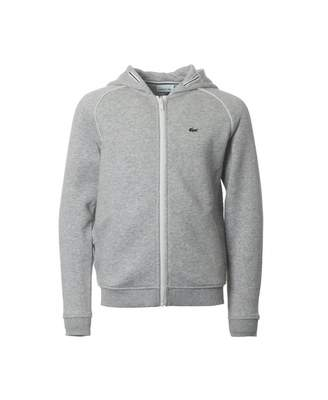 Lacoste Zip Through Hoody With Piping