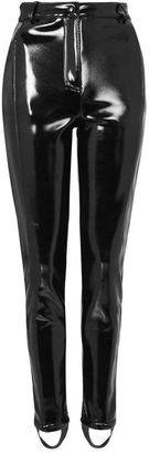 Topshop sno **vinyl ski trousers