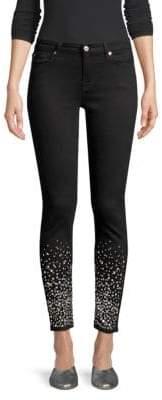 72c08ad0f9f9 7 For All Mankind Rhinestone Embellished Skinny Jeans