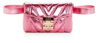 MCM Patricia Small Quilted Leather Convertible Belt Bag