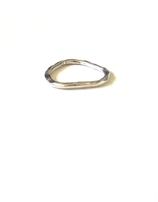 Bijouterie Mid-Knuckle Ring in Silver