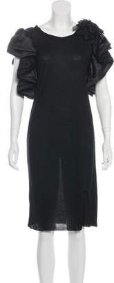 Lanvin Knit Knee-Length Dress w/ Tags