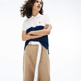 4ea74e0fed Lacoste Women s Slim Fit Petit Pique Polo Shirt