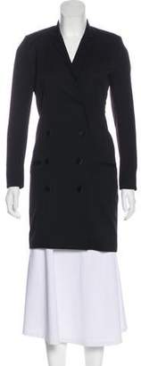 The Kooples Wool Lace-Trimmed Coat