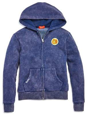 Butter Shoes Girls' Americana Patches Hoodie - Big Kid