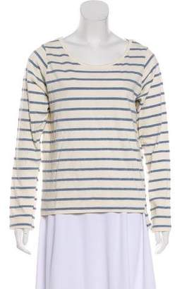 Monrow Long Sleeve Striped Top