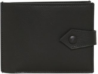 Two Tone Leather Coin Pocket Wallet $515 thestylecure.com