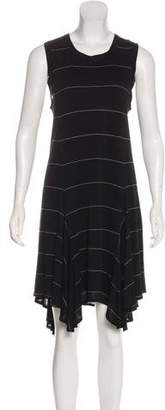 A.L.C. Striped Knee-Length Dress