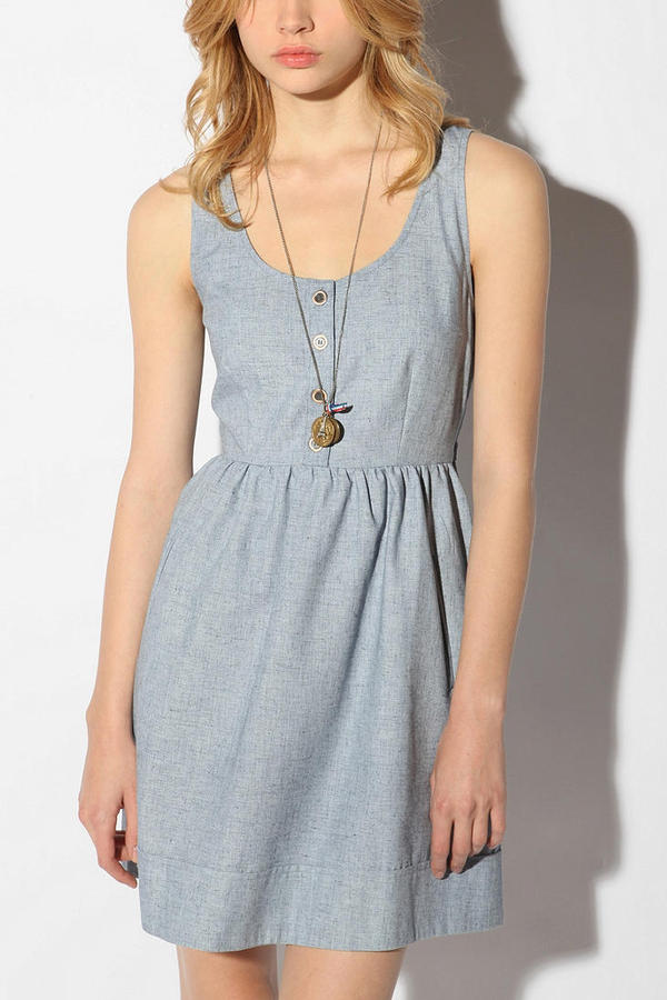 COPE Linen Chambray Dress