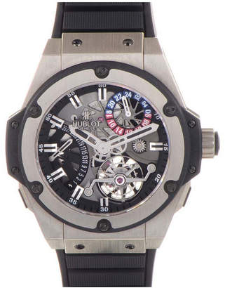 Hublot Men's Big Bang Jeweled Skeleton Watch
