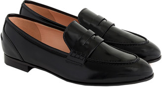J.Crew Academy Leather Penny Loafer