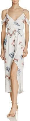 Bardot Floral Mock Wrap Dress $119 thestylecure.com