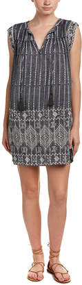 Love Sam Embroidered Shift Dress