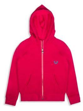 True Religion Toddler's, Little Girl's & Girl's Hooded Fleece $79 thestylecure.com