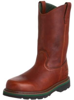 """John Deere Men's JD4193 11"""" Pull On Boot"""