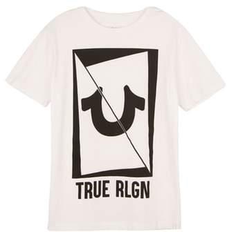 True Religion (トゥルー レリジョン) - True Religion Brand Jeans Logo Graphic T-Shirt