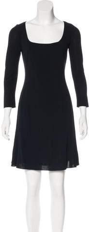 Ralph Lauren Long Sleeve Wool Dress