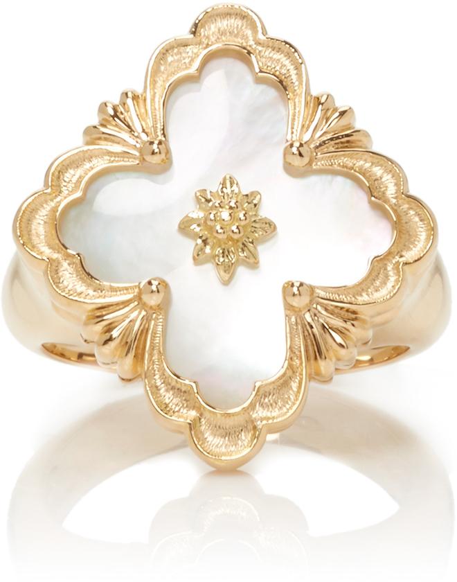 BuccellatiBuccellati Opera Mother of Pearl Ring