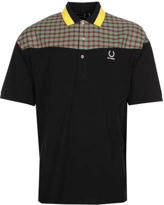 Raf Simons Fred Perry X Polo Shirt - Black