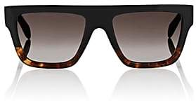 Celine Women's Rectangular Aviator Sunglasses - Brown