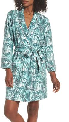 BedHead Print Knit Short Robe