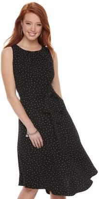 Elle Women's Fit & Flare Midi Dress