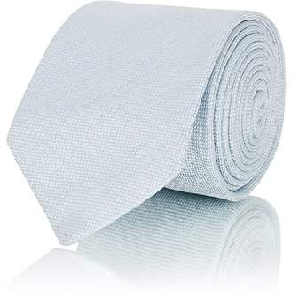 Barneys New York Men's Textured Linen-Silk-Blend Necktie