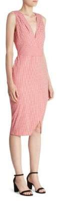 Altuzarra Elida Gingham Sheath Dress
