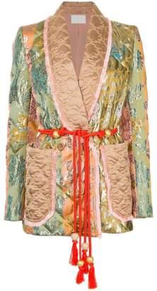 Peter Pilotto baroque quilted blazer