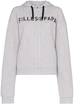 Filles a papa Tracy long sleeve cropped hoodie