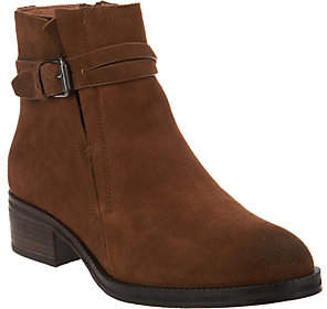 Kenneth Cole Gentle Souls by Gentle Souls Leather or Suede Ankle Boots -Percy