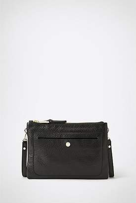 At Witchery Tilly Pebbled Leather Sling