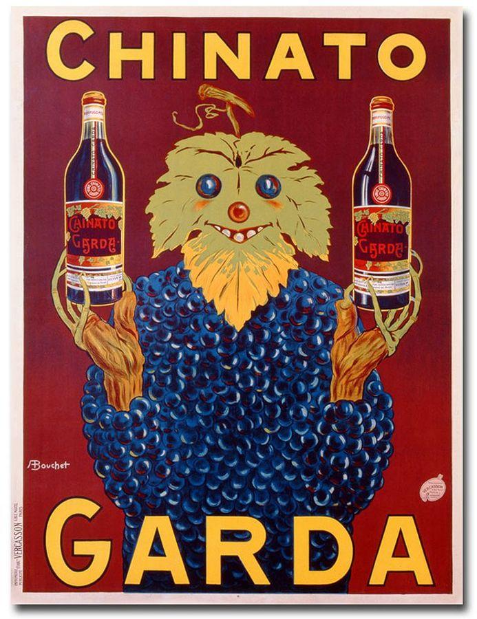 KitchenArt ''Chinato Garda, 1925'' 24'' x 32'' Canvas Art by Bouchet