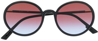 Christian Dior round tinted sunglasses