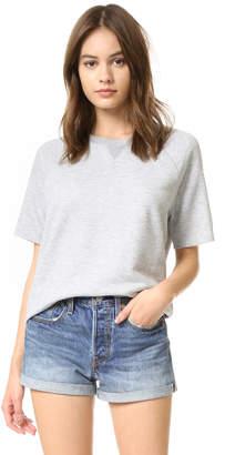 Zoe Karssen Loose Fit Raglan Sweater $88 thestylecure.com