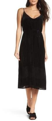 BB Dakota Alayna Velvet Midi Dress