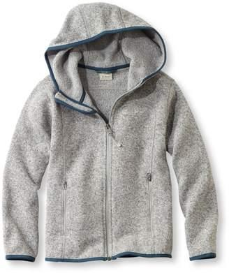 L.L. Bean Kids' L.L.Bean Sweater Fleece, Hooded